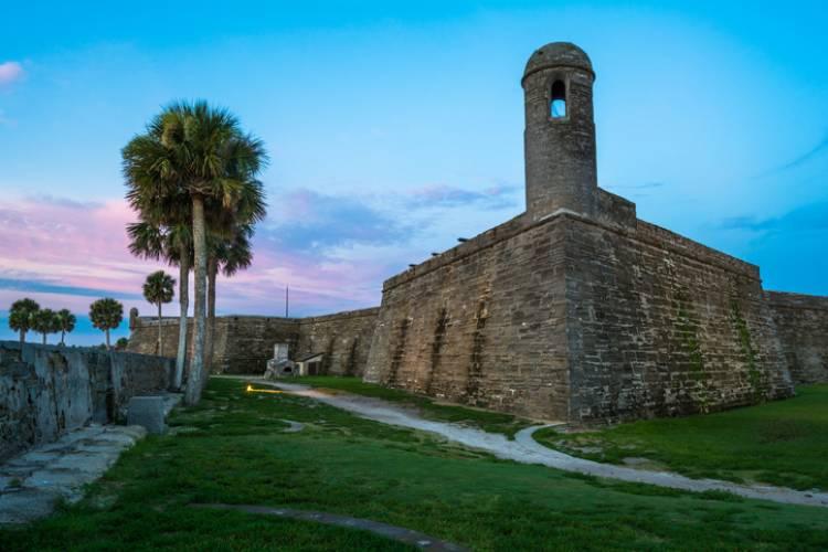 A view of Castillo de San Marcos National Monument
